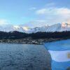 Vista de la ciudad desde la bahía de Ushuaia