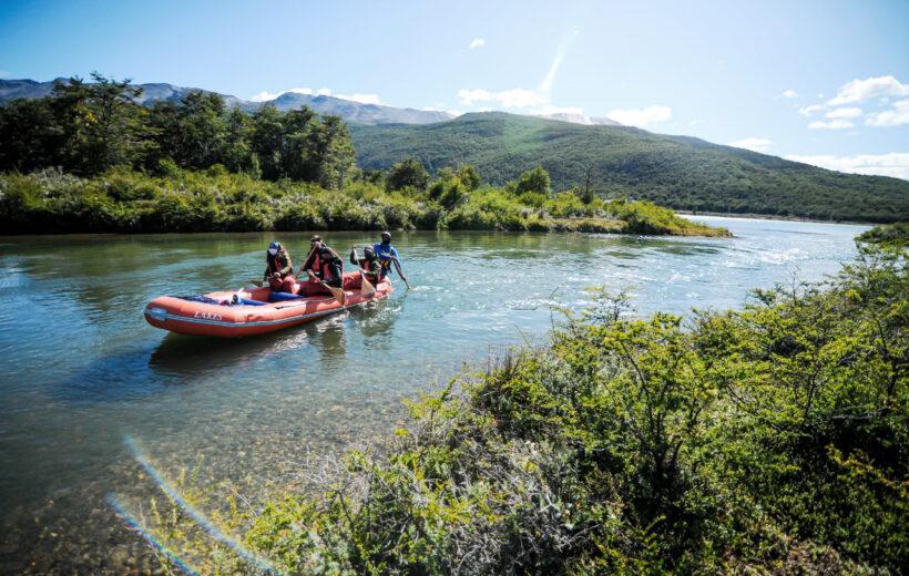 Trekking y Canoas en el Parque Nacional Tierra del Fuego