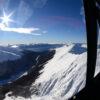 Cordillera de los Andes desde sobrevuelo